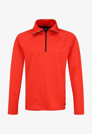 CLIME - Fleece jumper - fiery red