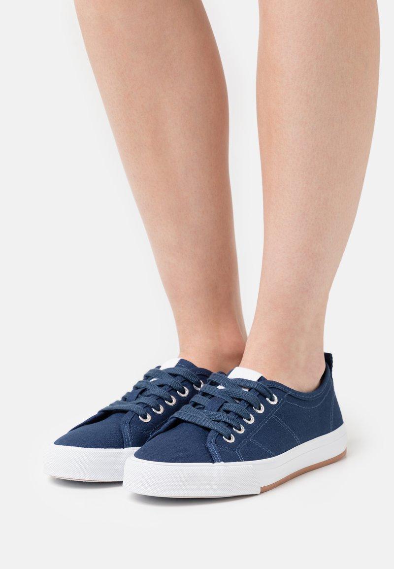 Esprit - SIMONA LU - Sneakers laag - dark blue