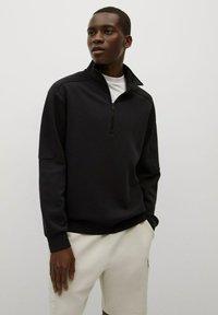 Mango - Sweatshirt - black - 0