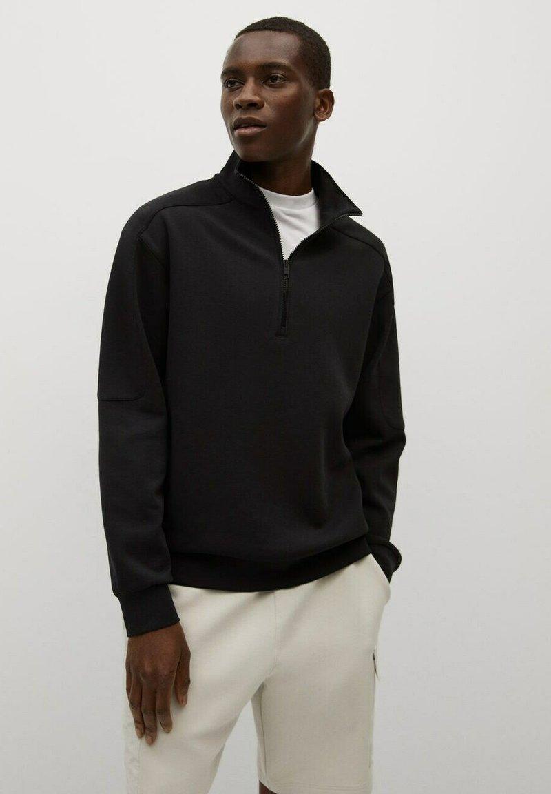 Mango - Sweatshirt - black