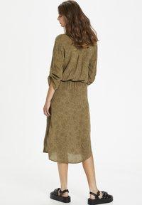 Soaked in Luxury - SL ZAYA  - Day dress - scattered dot print elmwood - 1