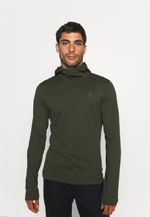 MOTUS HOODY MENS - Long sleeved top - khaki