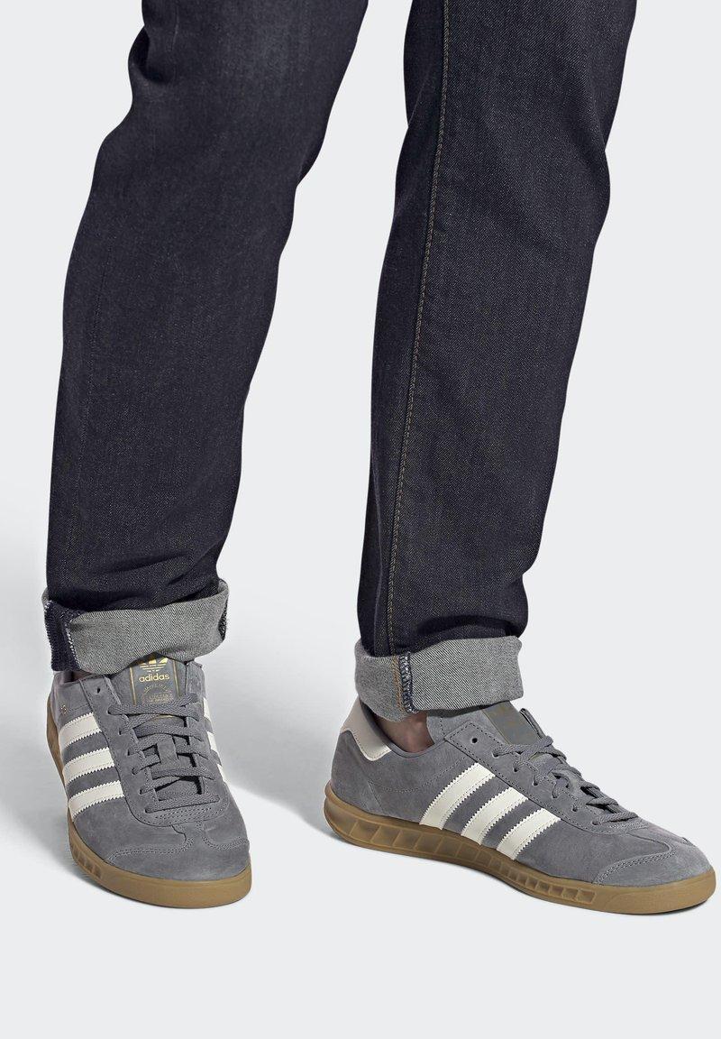 adidas Originals - HAMBURG TERRACE - Trainers - grey core black gum