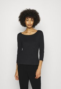 Anna Field - 2 PACK - Long sleeved top - white/black - 3