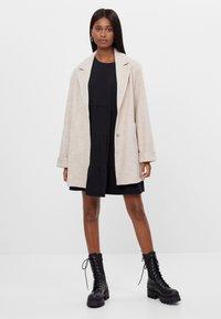 Bershka - Short coat - beige - 1