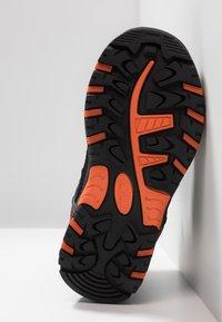 CMP - RIGEL MID SHOE WP UNISEX - Hiking shoes - stone/orange - 5
