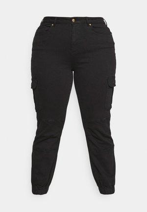 CARMISS LIFE - Cargo trousers - black