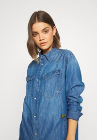 G-Star - TACOMA  - Button-down blouse - blue - 3