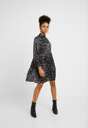 VIDAGO SHORT DRESS - Day dress - black
