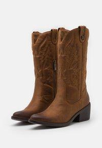 mtng - TANUBIS - Cowboy/Biker boots - brown - 2