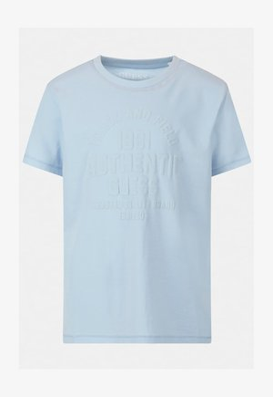 FRONTLOGO - Print T-shirt - blau
