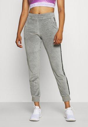 CUFF PANTS - Teplákové kalhoty - mottled grey