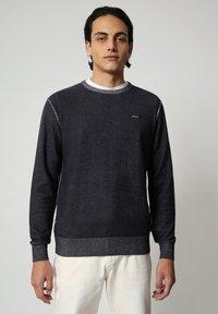 Napapijri - DRAO CREW - Stickad tröja - blu marine - 0