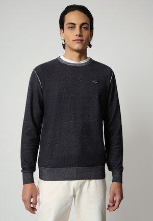 DRAO CREW - Stickad tröja - blu marine