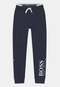 BOSS Kidswear - Tracksuit bottoms - navy - 0