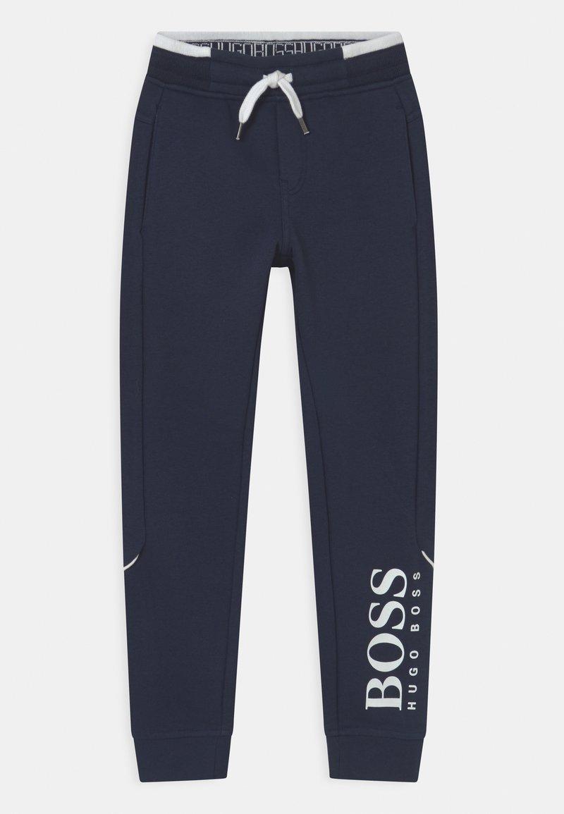 BOSS Kidswear - Tracksuit bottoms - navy