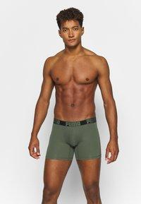 Puma - ACITVE BOXER 2 PACK - Pants - army green - 0