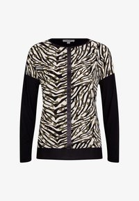 comma casual identity - Long sleeved top - khaki zebra and flower - 3