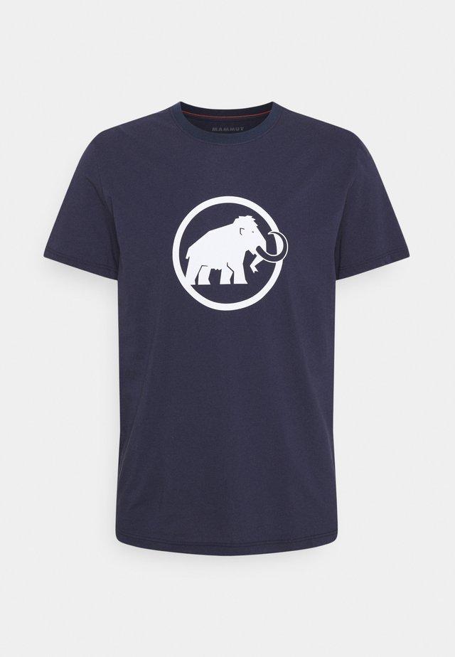 CLASSIC  - T-shirt imprimé - marine