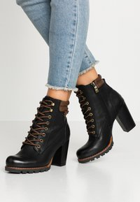 TOM TAILOR - Ankle boots - black - 0