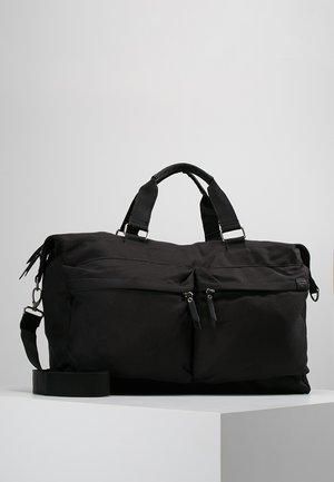 SIMON - Weekend bag - black