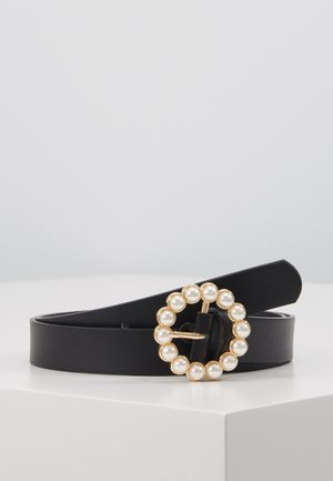 PCONA JEANS BELT KEY - Belte - black/gold
