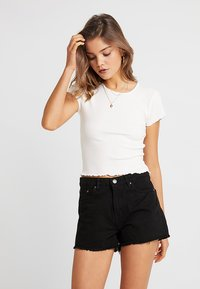 Nly by Nelly - LOVE  - Basic T-shirt - white - 0