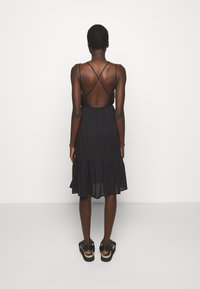 Hofmann Copenhagen - ANNABELLA - Robe d'été - black print - 2