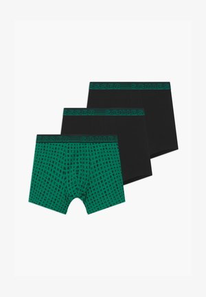 TEENS 3 PACK  - Boxerky - green/black
