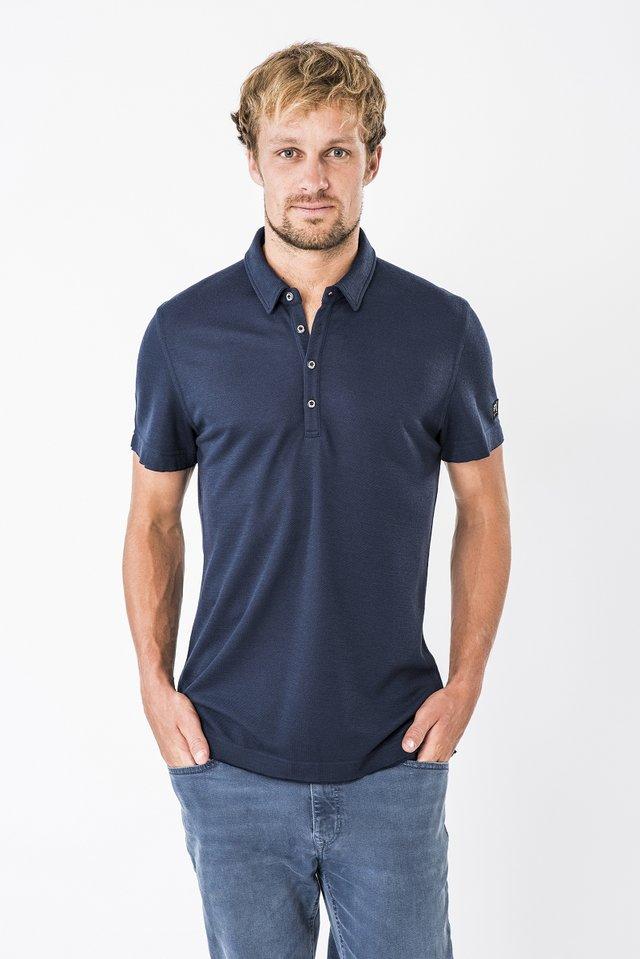 M PIQUET POLO - Polo shirt - blue