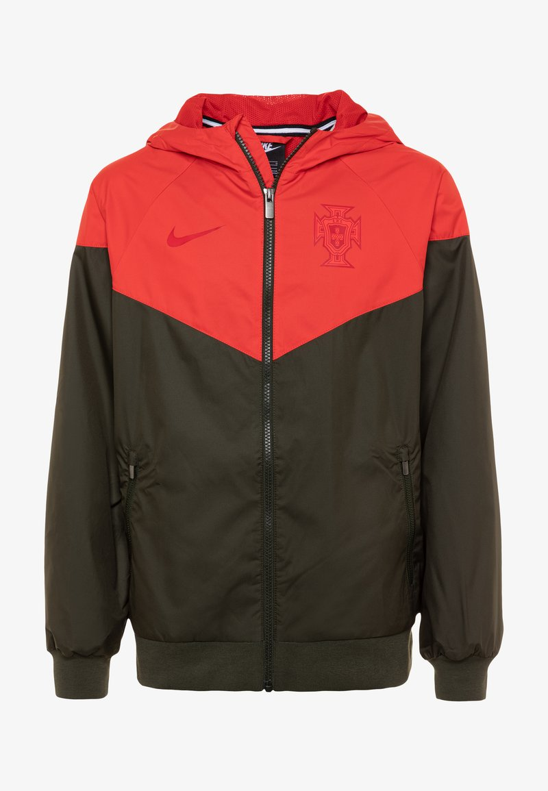 Nike Performance - PORTUGAL FPF - Training jacket - sequoia/sport red/sequoia/gym red
