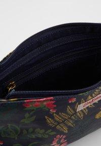 Cath Kidston - SMALL ZIPPED CROSSBODY - Across body bag - navy - 4
