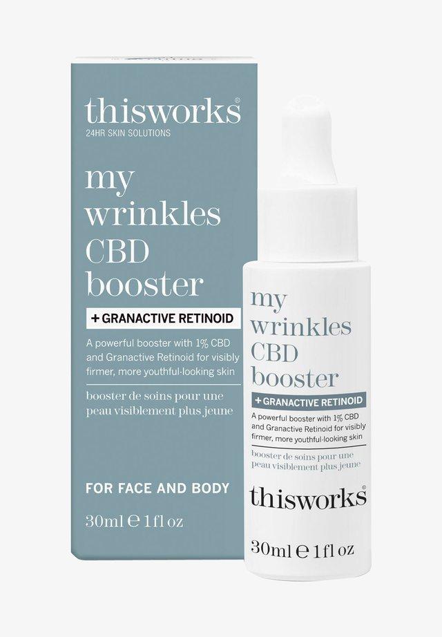 MY WRINKLES CBD BOOSTER + GRANACTIVE RETINOID - Night care - -
