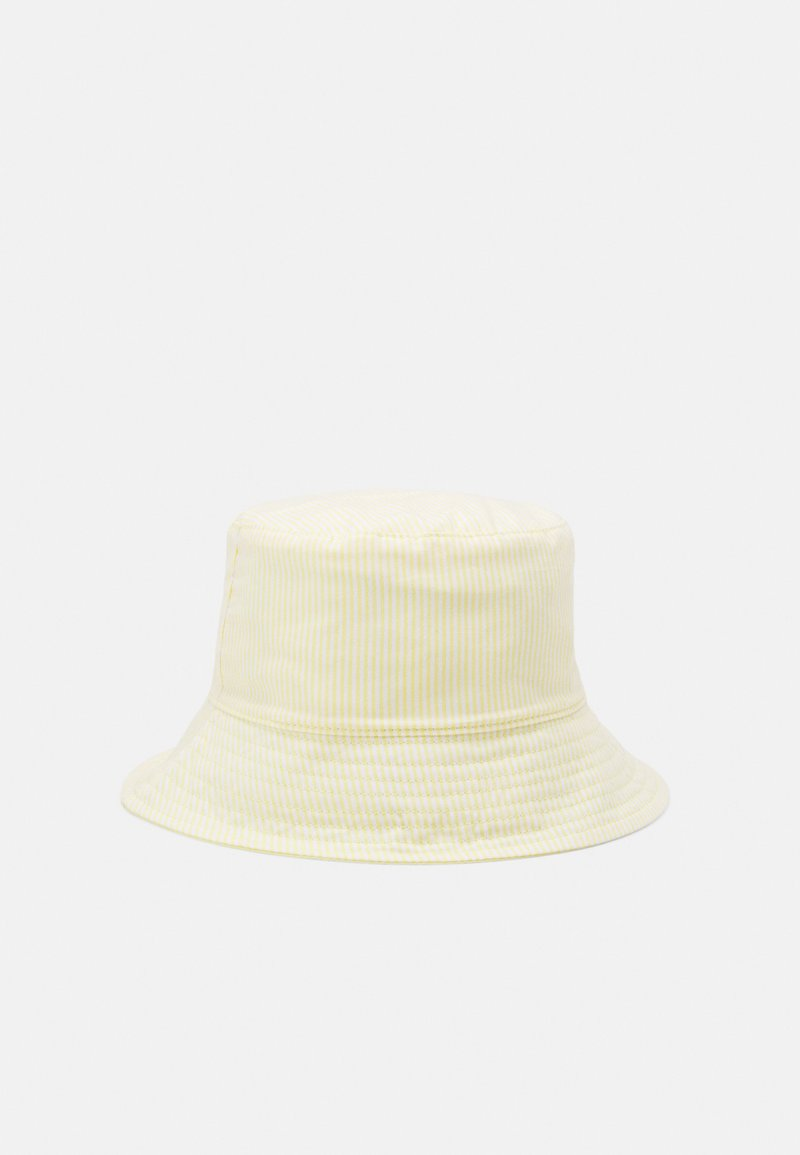 Lindex - HAT SUNCAP STRIPES - Hat - light yellow