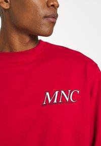 Mennace - COURTSIDE REGULAR - Sweatshirt - red - 7