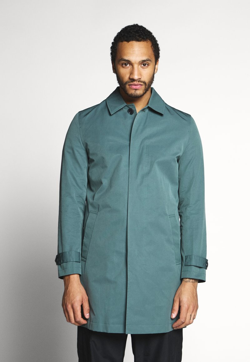 River Island - AIRFORCE CAR - Trenchcoat - blue