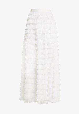 YASCHRISTINA SKIRT - Maxi sukně - star white
