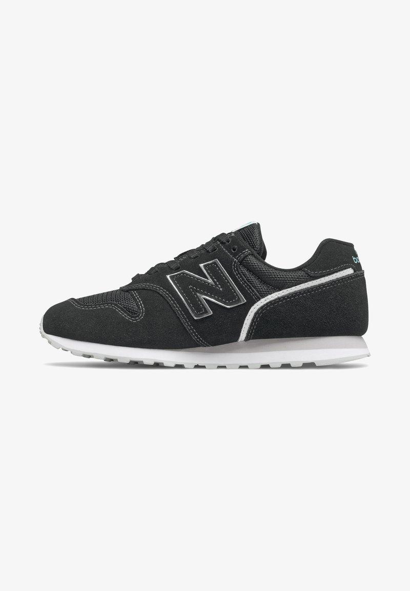 New Balance - Baskets basses - black/white