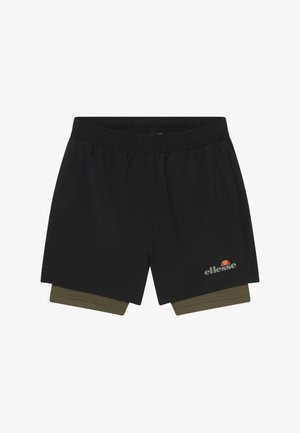 LUPIA 2-IN-1 - Sports shorts - black