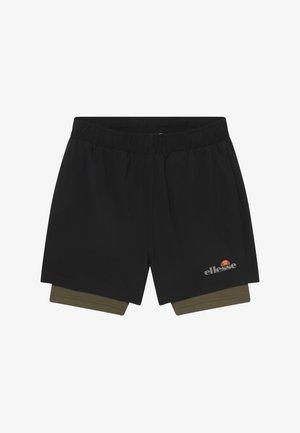 LUPIA 2-IN-1 - Pantalón corto de deporte - black