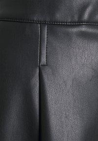 More & More - SKIRT MIDI - Áčková sukně - black - 2