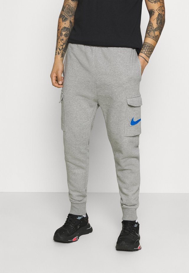 COURT PANT - Tracksuit bottoms - grey heather