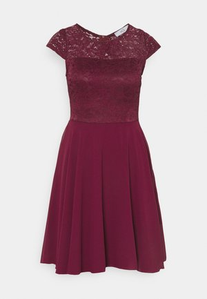 PEYTON SKATER DRESS - Cocktailkleid/festliches Kleid - wine