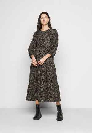ONLSARA ZILLE CALF DRESS - Hverdagskjoler - black