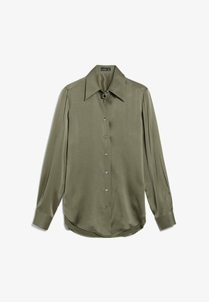 M-LUBI - Button-down blouse - grün