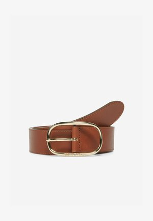 Belt - maroon brown
