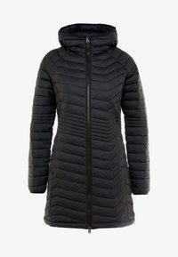 Columbia - POWDER LITE MID JACKET - Zimní kabát - black - 6