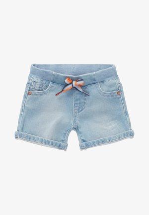 TRANI - DENIM SHORTS - Denim shorts - light blue denim