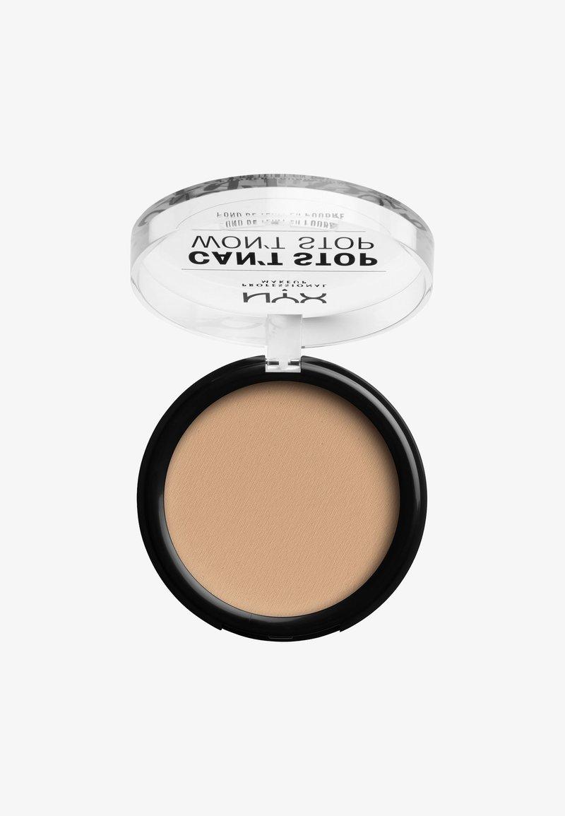 Nyx Professional Makeup - CAN'T STOP WON'T STOP POWDER FOUNDATION - Powder - CSWSPF07 natural