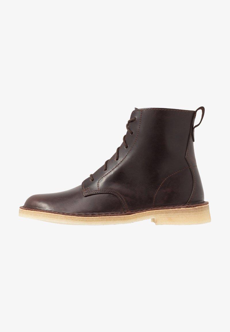 Clarks Originals - DESERT MALI - Lace-up ankle boots - chestnut